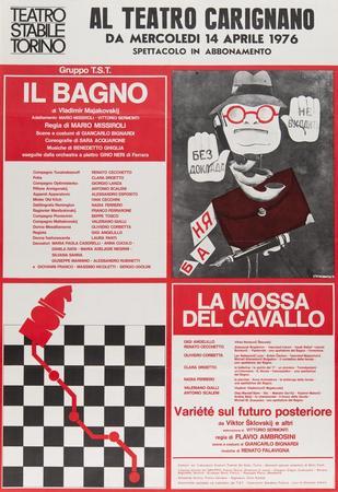 Manifesto Teatro Carignano