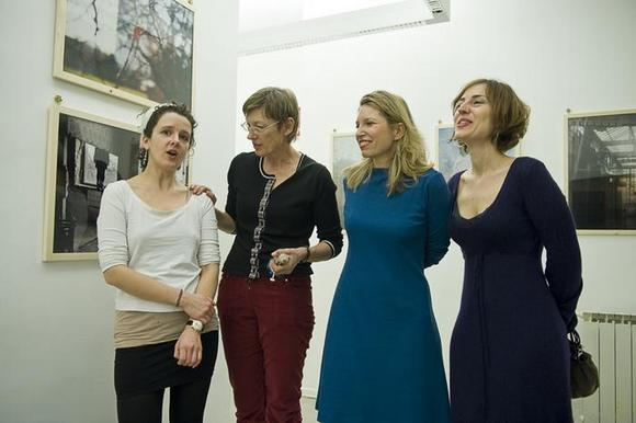 Franziska Hauser, Inge Schladen, Jessica Kraatz Magri, Eva Frapiccini