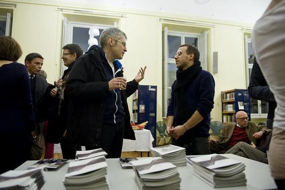 al centro sulla destra Lorenzo Barello, Settore Produzione e Programmazione TST