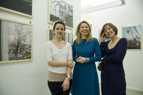 Franziska Hauser, Jessica Kraatz Magri, Eva Frapiccini