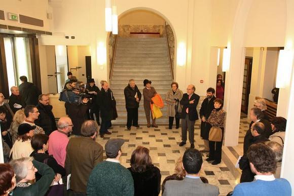 Foyer di ingresso del Teatro Astra