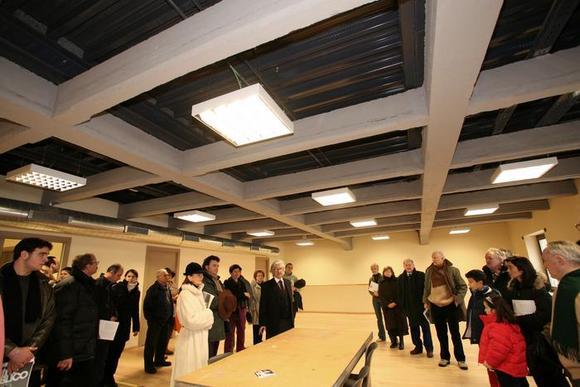 Sala prove al primo piano del Teatro Astra
