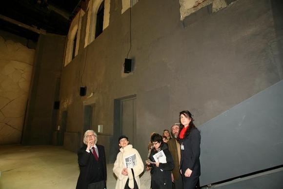 Agostino Magnaghi presenta la sala del Teatro Astra