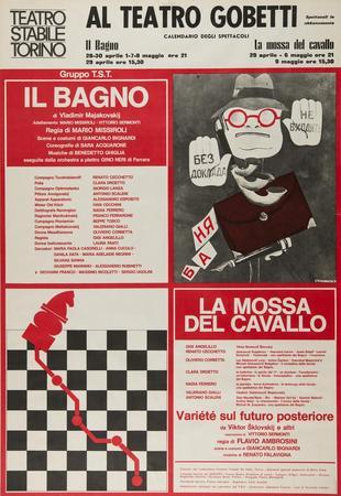 Manifesto Teatro Gobetti