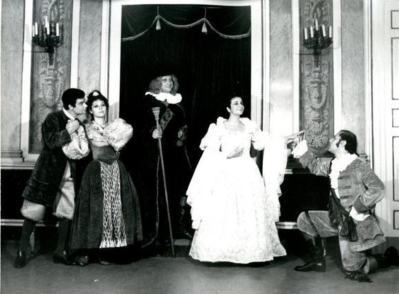 Piero Sammataro, Maria Teresa Sonni,  Attilio Cucari, Anna D'Offizi, Rino Sudano