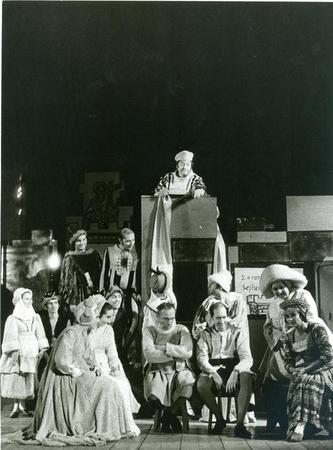 al centro Gualtiero Rizzi (in alto), appoggiato al podio Rino Sudano, al centro seduti Federico Goletti, Alessandro Esposito, Bob Marchese (dietro Esposito), Wilma Deusebio