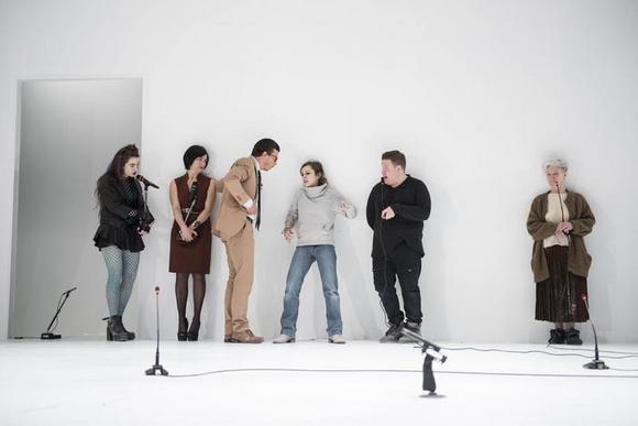da sinistra: Carolina Cametti, Mariangela Granelli, Alessandro Marini, Camilla Semino Favro, Daniele Marmi, Ariella Reggio
