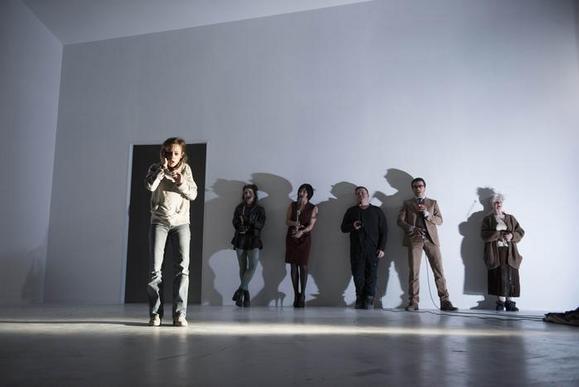 da sinistra: Camilla Semino Favro, Carolina Cametti, Mariangela Granelli, Daniele Marmi, Alessandro Marini, Ariella Reggio
