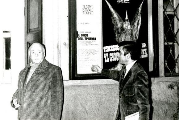 Eugène Ionesco e Nuccio Messina