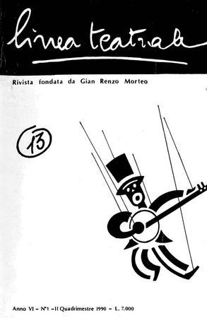 Linea teatrale, n. 13 (ottobre 1990) - Copertina