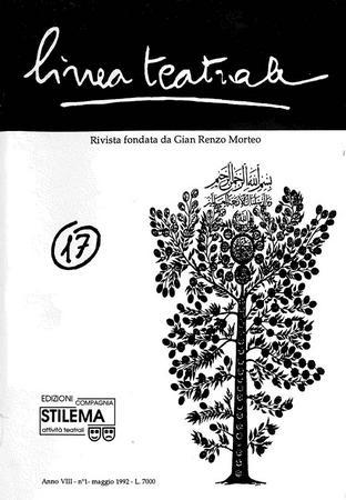 Linea teatrale, n. 17 (maggio 1992) - Copertina