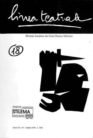 Linea teatrale, n. 18 (ottobre 1993) - Copertina