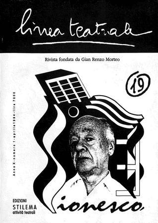 Linea teatrale, n. 19 (aprile 1994) - Copertina