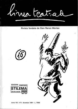 Linea teatrale, n. 16 (dicembre 1991) - Copertina