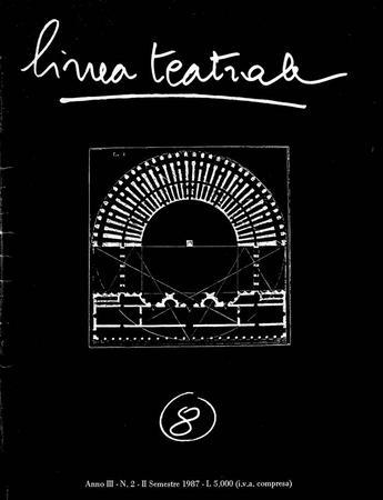 Linea teatrale, n. 8 (dicembre 1987) - Copertina